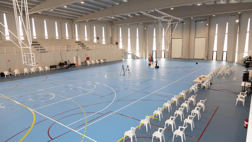 Cehegín ya cuenta con un nuevo pabellón deportivo de referencia comarcal