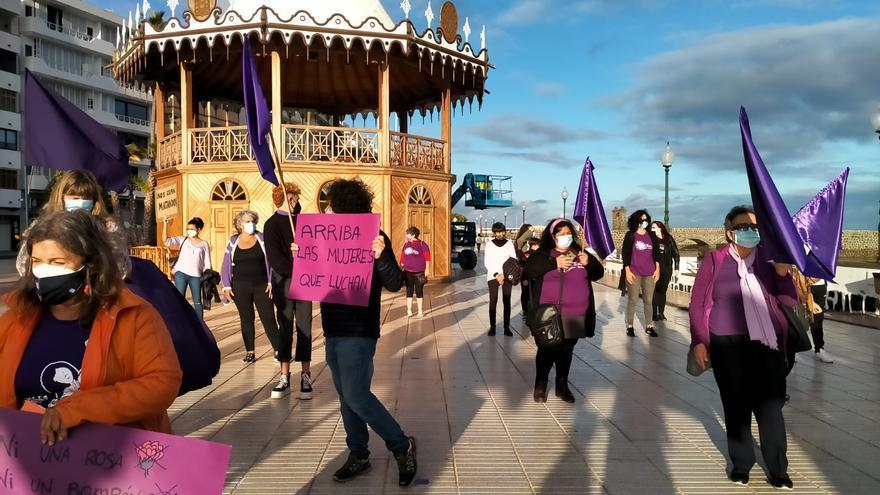"""Lanzarote se concentra por """"los feminismos sin fronteras"""""""