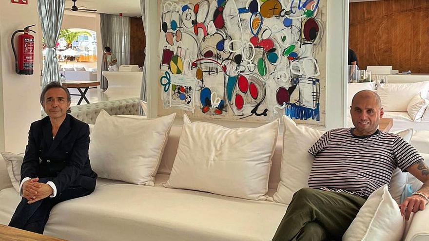 Destino presenta la obra expresionista de Taher Jaoui