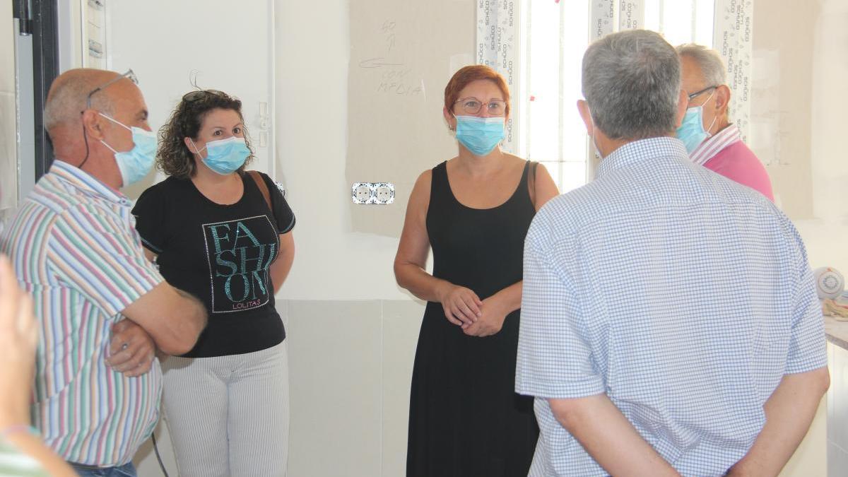 Las obras de rehabilitación del local social de la Cañada del Trigo concluirán a final de agosto