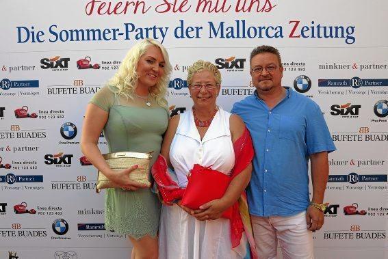 Inna Eisel, Melany Rolshoven und Matthias Eisel
