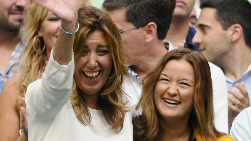 Verónica Pérez, la 'niña' y mano derecha de Susana Díaz