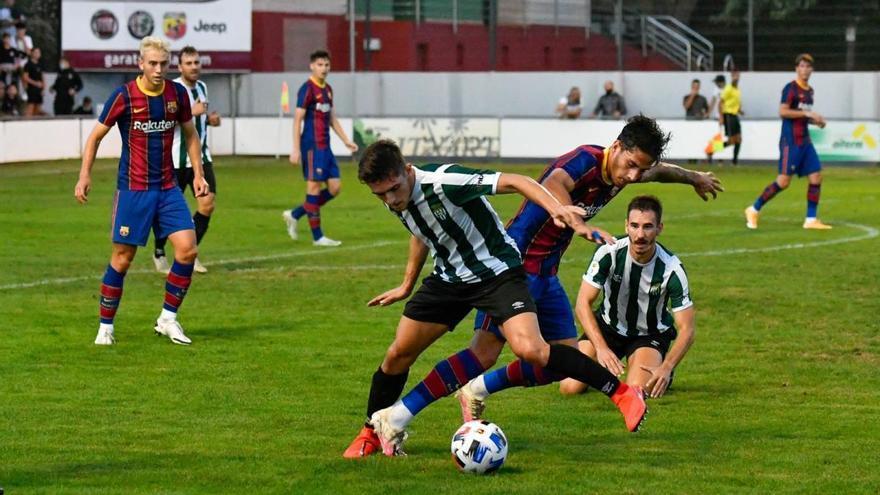 El Peralada cau davant el Barça B (1-4) en deu minuts per oblidar