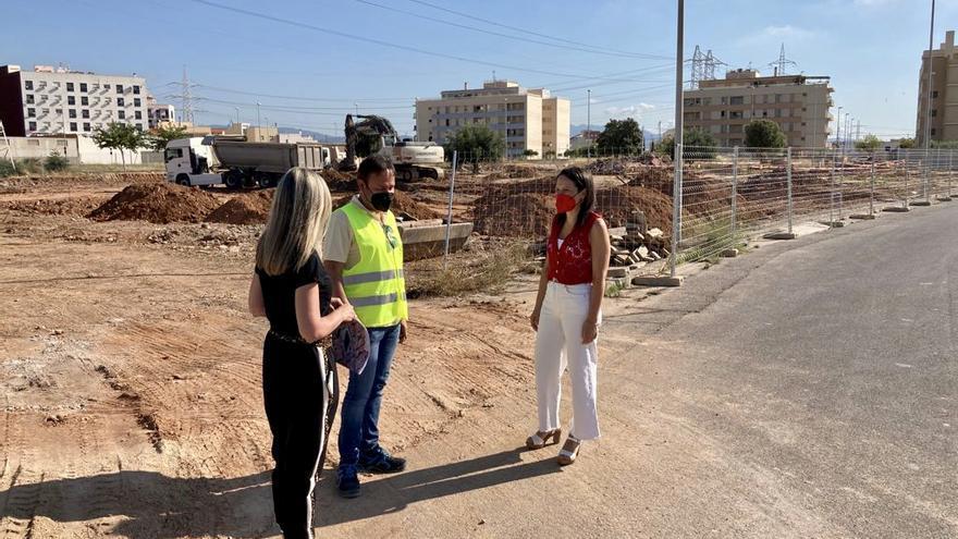 Comienzan en Almassora las obras del nuevo colegio Santa Quitèria
