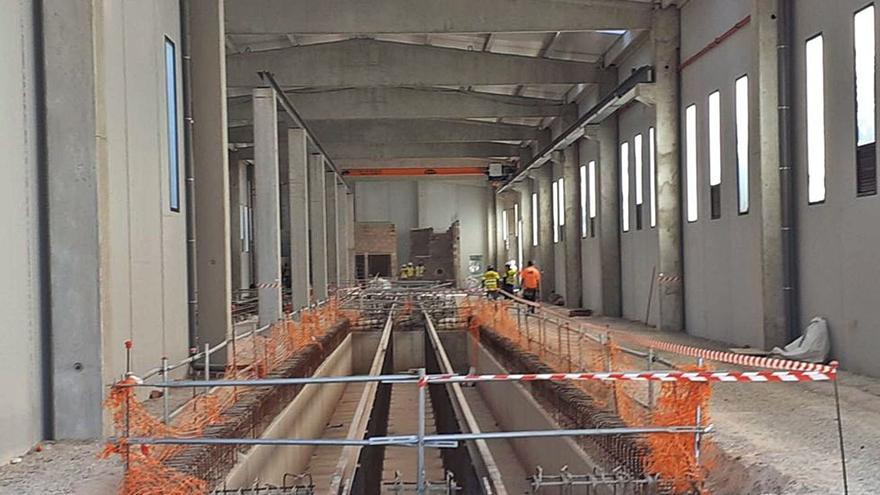 La L10 arrancará con 7 tranvías,  3 de ellos traídos de Alicante