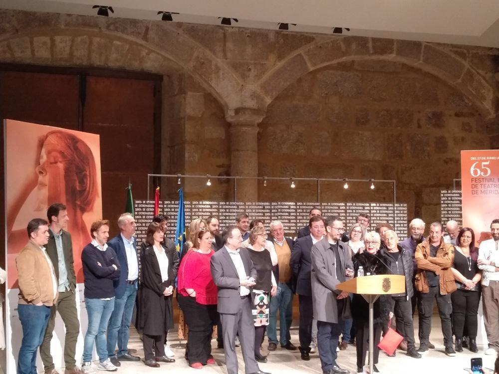 Presentación de la programación del Festival de Teatro de Mérida