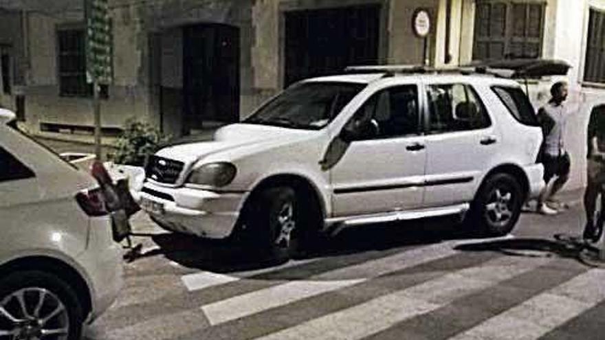 Un aparcamiento político privilegiado en la plaza de Petra