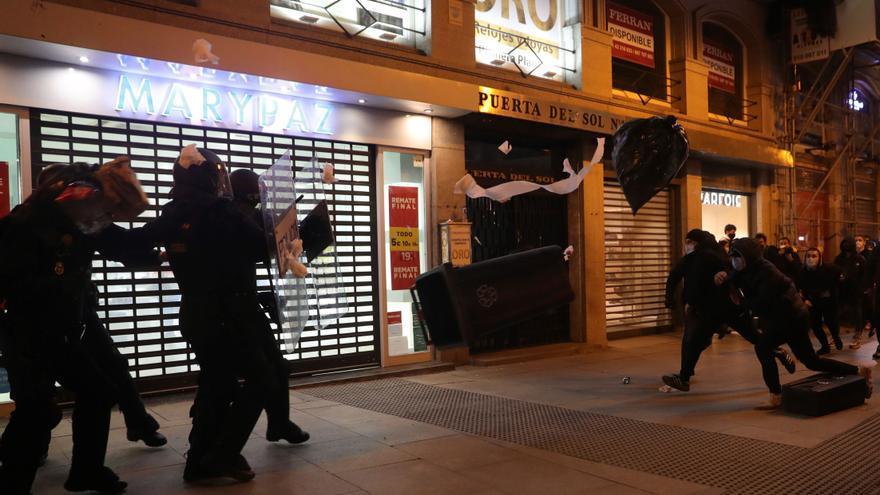 """Un sindicato policial ve """"escandaloso"""" que un partido en el Gobierno apoye """"protestas violentas"""""""