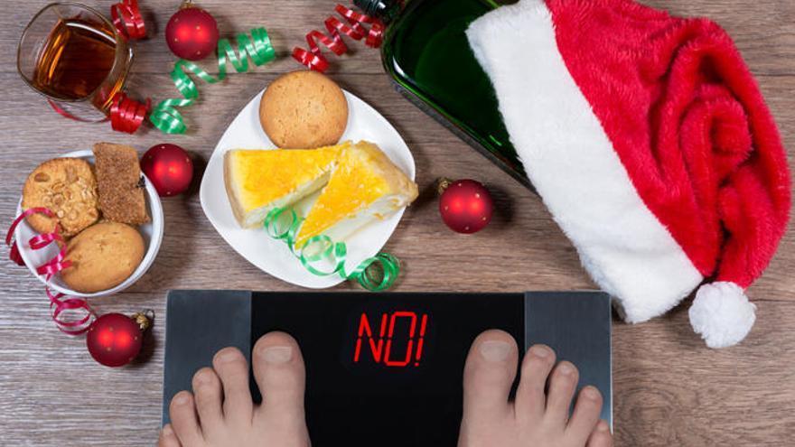 Siete consejos para evitar el aumento de peso en Navidad