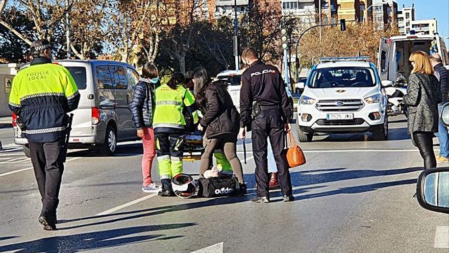 Colisión con una herida en Alicante