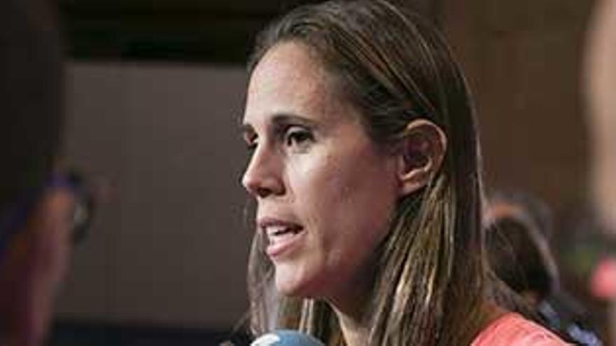 Amaya Valdemoro dice que la hazaña  del salto inicial de los Gasol es algo irreptible