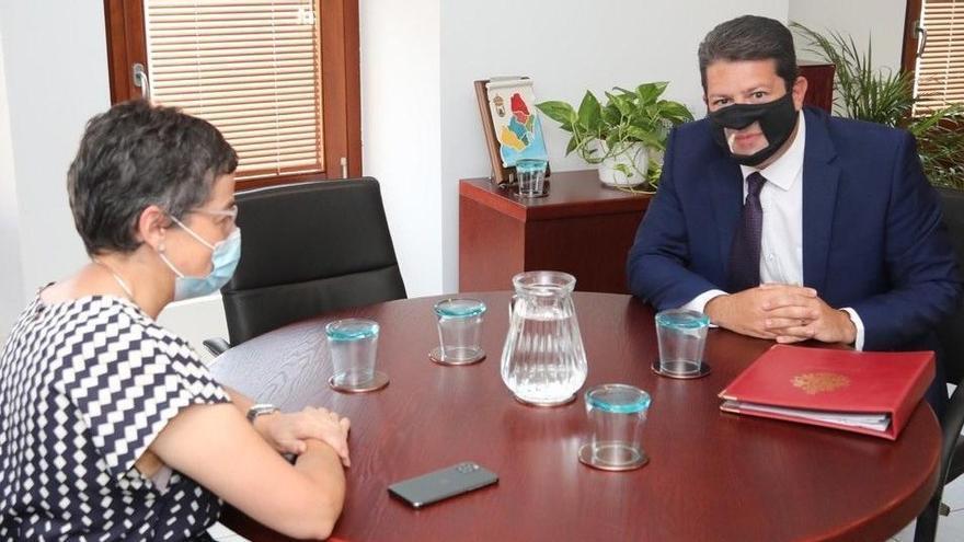 González Laya se reúne con el ministro principal de Gibraltar