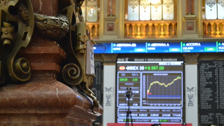 El Ibex 35 modera su alza al 0,64% tras la reunión del BCE