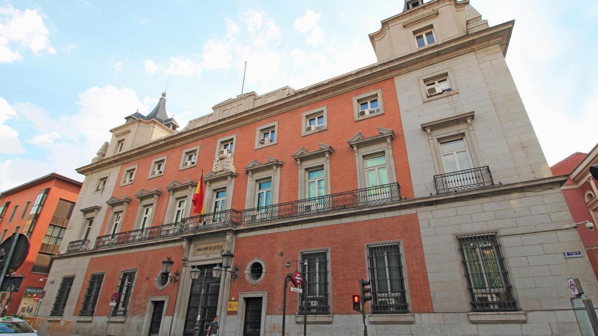 Edificio del Ministerio de Justicia.