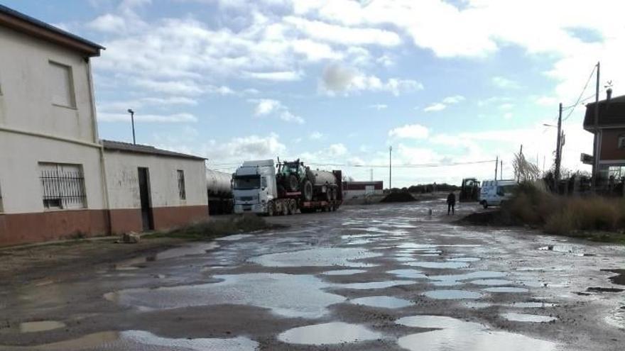 Tábara licita las obras de saneamiento en la calle Chana