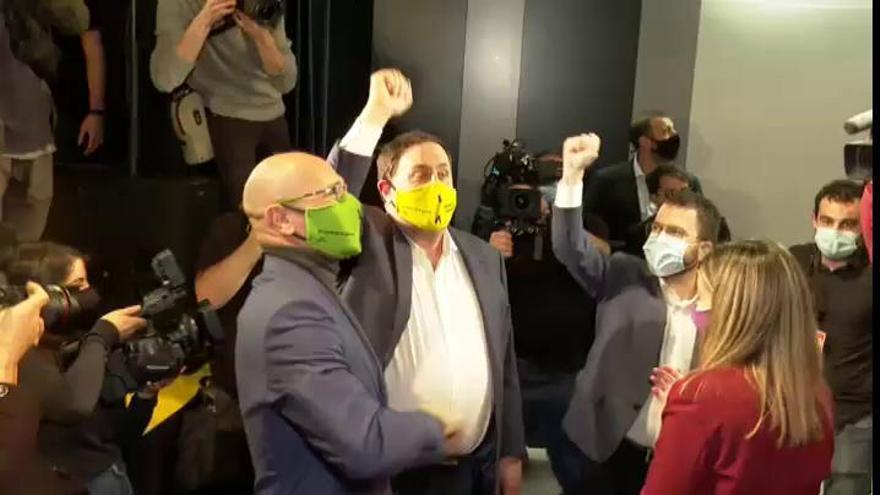 """Junqueras llama a votar el 14F: """"Si no gana ERC, ganarán los de siempre"""""""