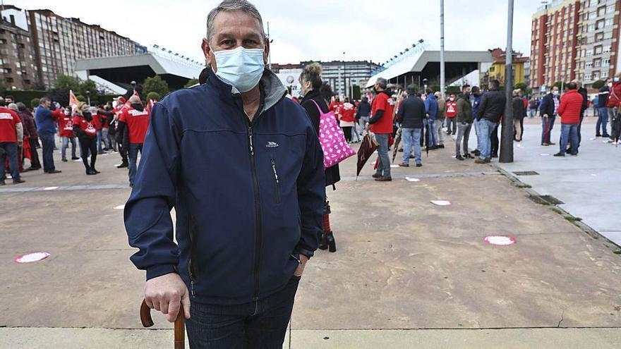 """José M.ª Ramos, jubilado de Alcoa: """"La juventud no puede hacer planes de futuro"""""""