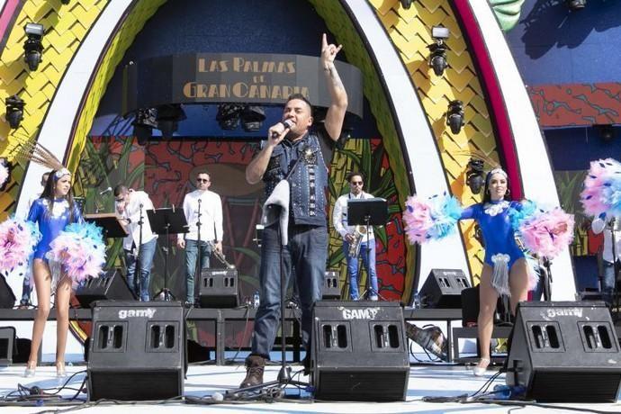 24.02.19. Las Palmas de Gran Canaria. Carnaval 2019. Carnaval de día en el Parque de Santa Catalina, concierto de Manny Manuel . Foto Quique Curbelo    24/02/2019   Fotógrafo: Quique Curbelo
