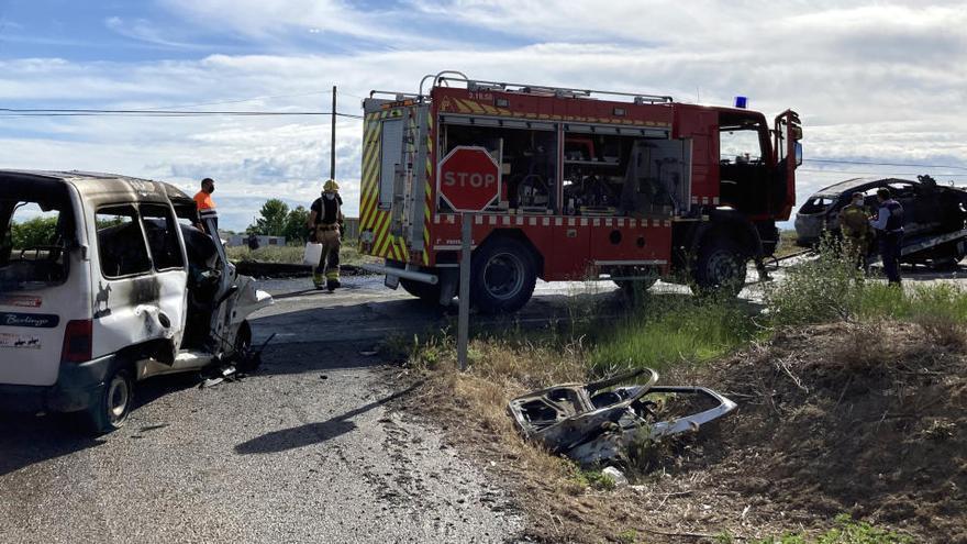 Dos morts en un accident de trànsit a Artesa de Lleida