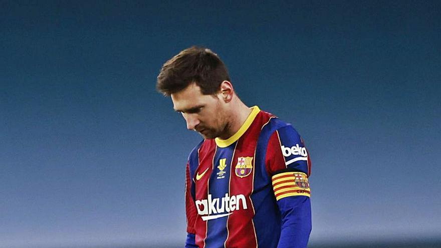 El túnel sin fin de Messi