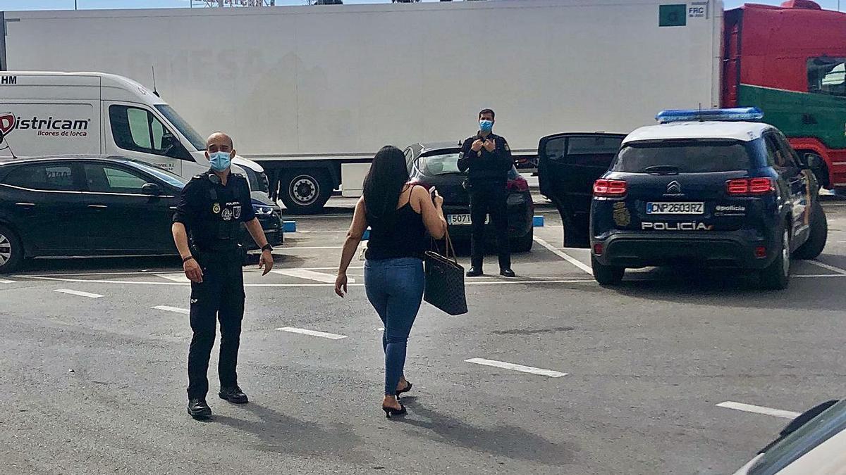 La operación se ha llevado a cabo entre agentes de Policía Nacional de Molina y la Policía Local de Lorquí.       | P.N.