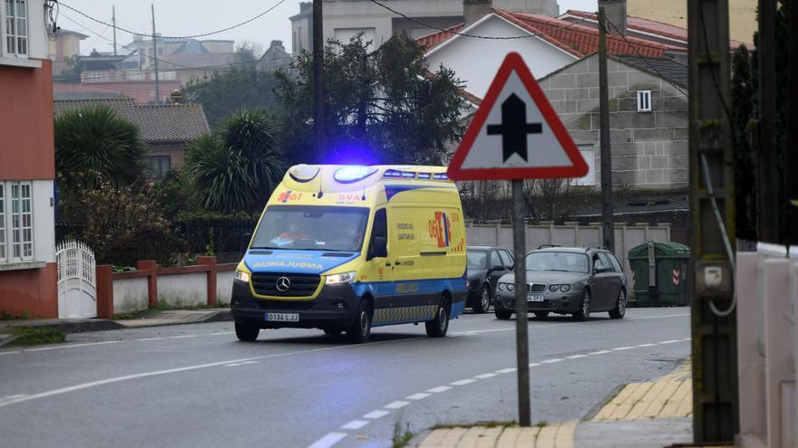 Herido un motorista en Marcón al irrumpir un corzo en la calzada