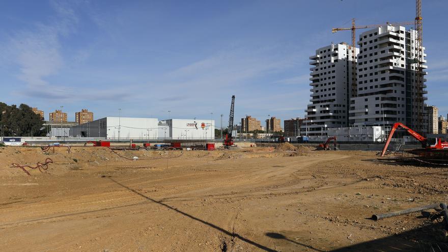 Las obras del Casal España Arena de València
