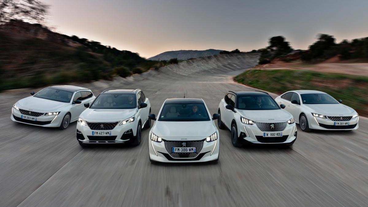 Peugeot vuelve a la actividad con su gama eléctrica como protagonista