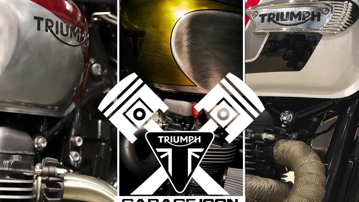 El Triumph Garage Icon 2020 llega a su fase final
