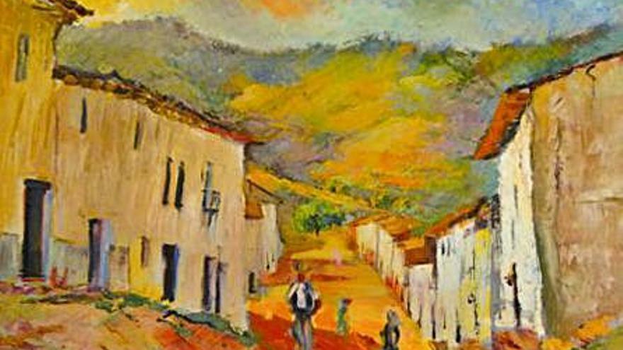 Vicent Àlvarez dona al museo de Xàtiva una colección de arte