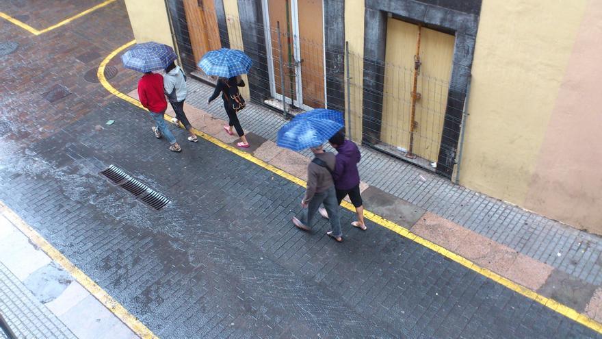 La borrasca atlántica se alargará en el Archipiélago hasta el jueves