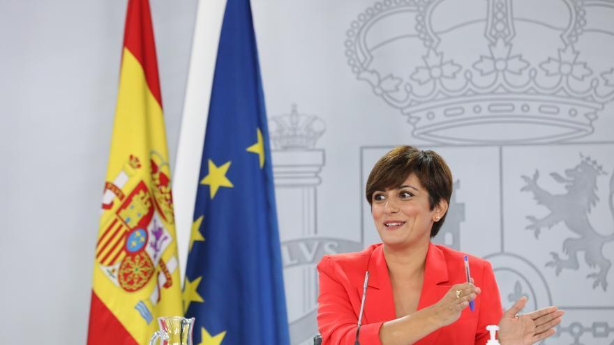 Rueda de prensa tras la reunión del Consejo de Ministros