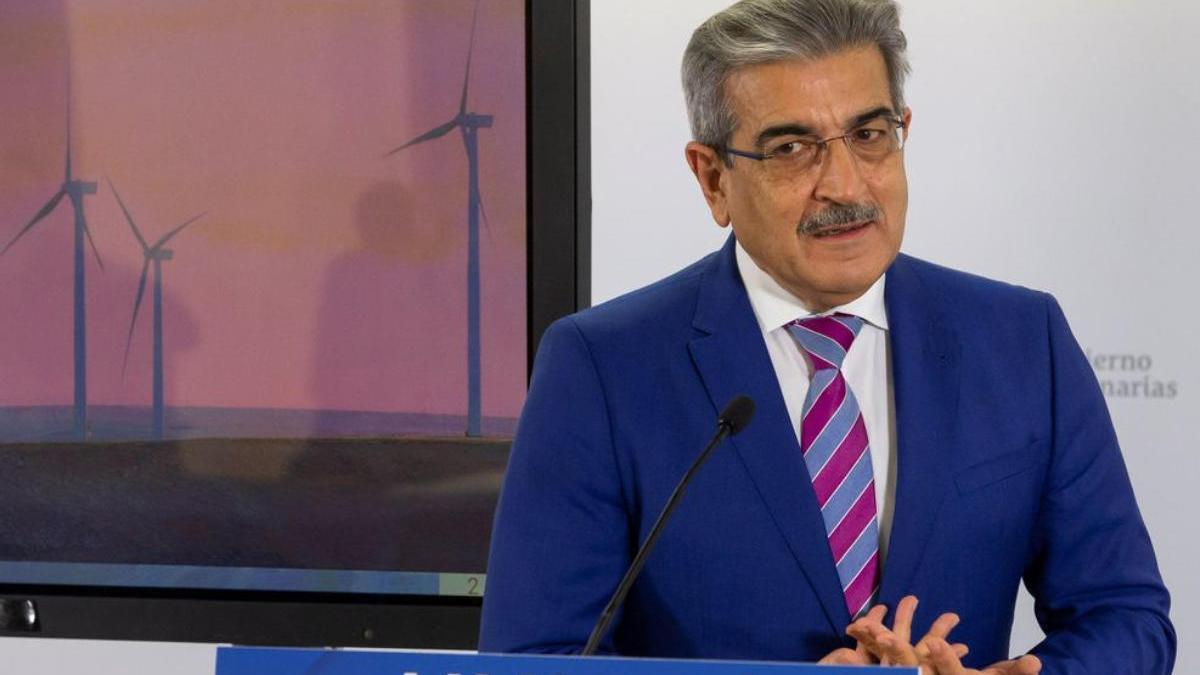 El vicepresidente del Gobierno de Canarias, Román Rodríguez.
