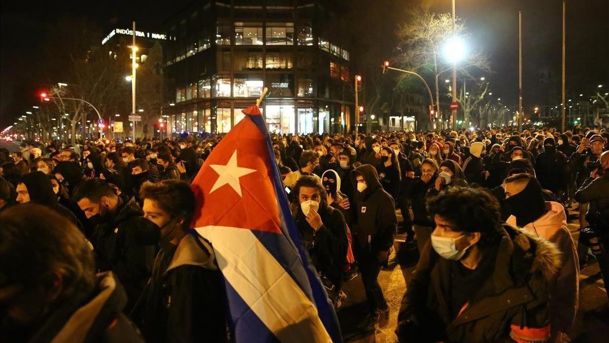 Convocadas por tercer día manifestaciones en apoyo a Pablo Hasél