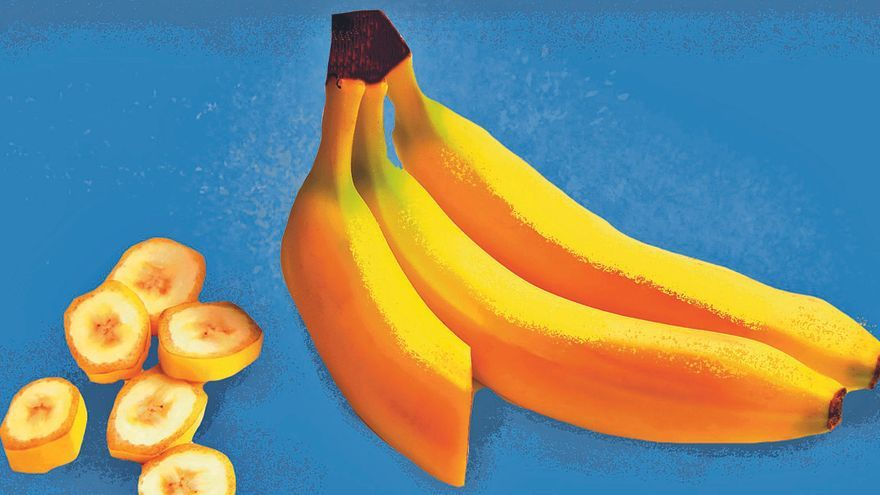 El plátano también fue exótico alguna vez