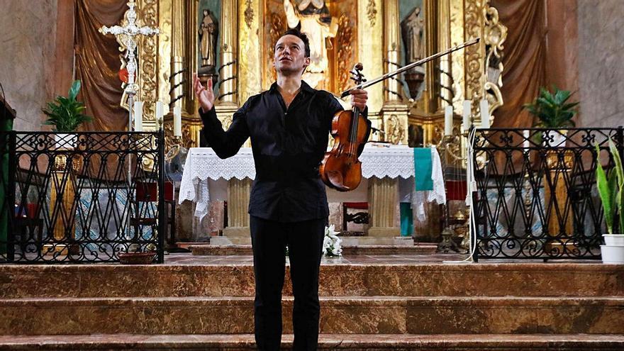 Linus Roth llena Santo Domingo con los Ibiza Concerts