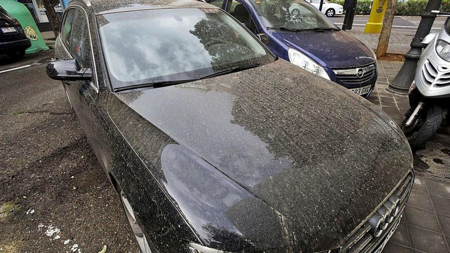El tiempo en València: La lluvia deja una capa de barro