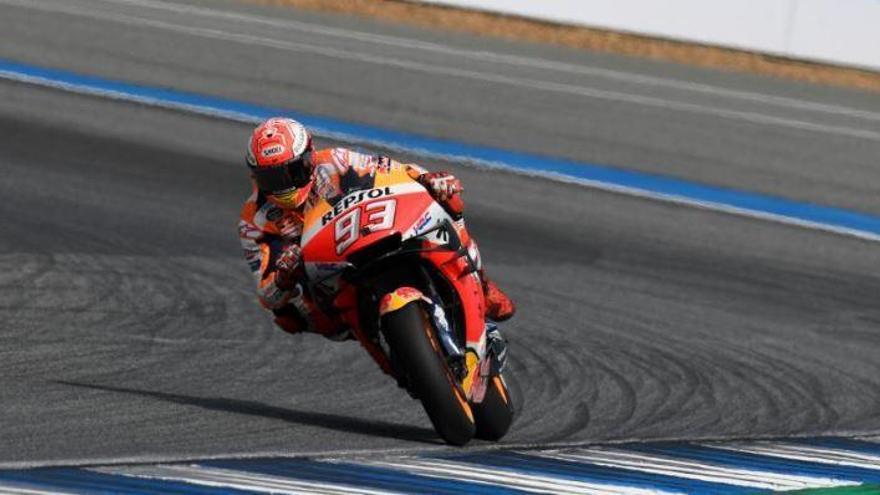 Marc Márquez revalida el mundial de MotoGP com a gran campió a Tailandia