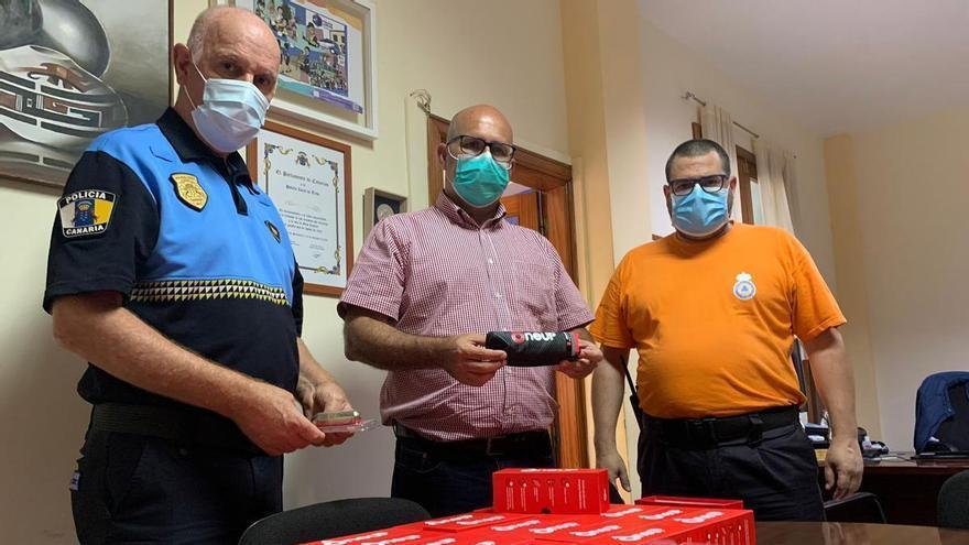 La Policía Local de Telde cuenta ya con salvavidas compactos