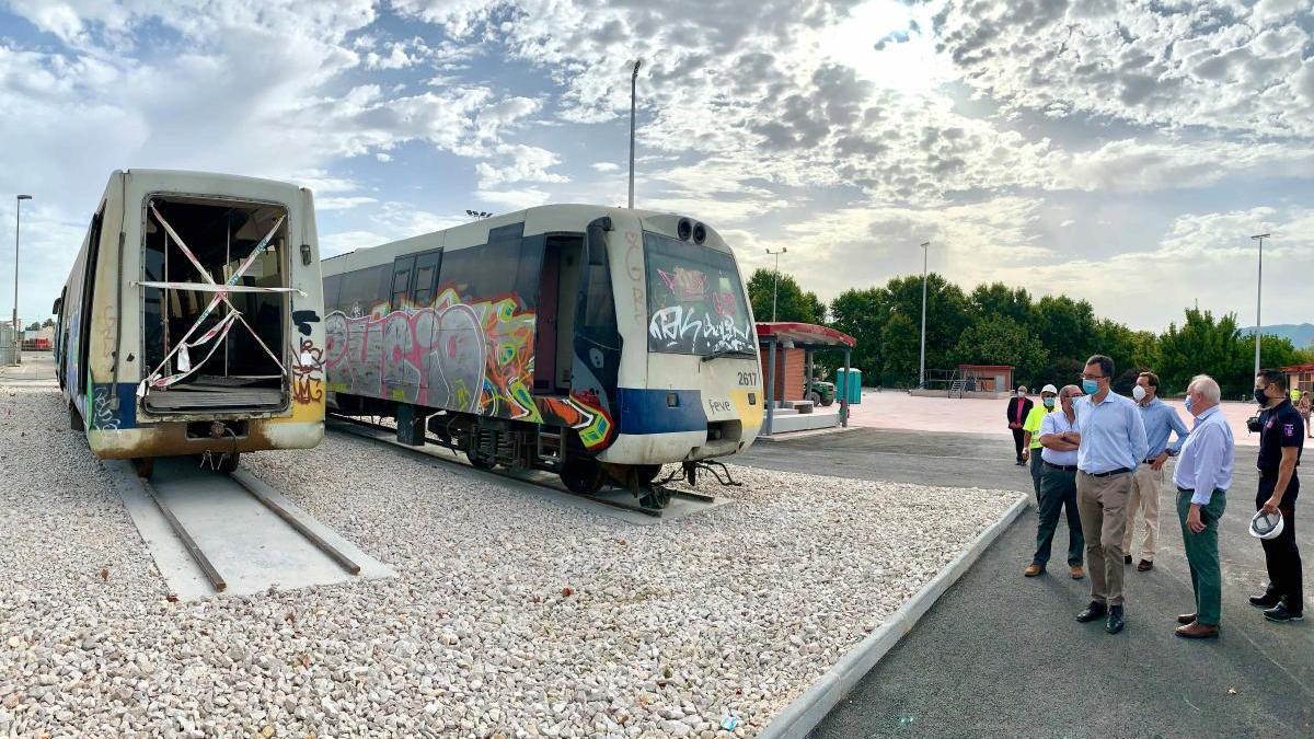 Las obras del nuevo campo de maniobras de Murcia encaran su recta final