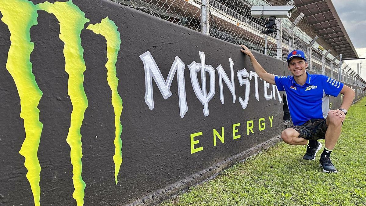 Joan Mir en el Gran Premio Monster Energy de Catalunya que se disputa este domingo.