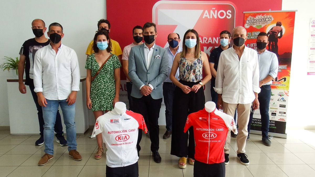 Presentación del V Challenge BTT Diputación de Castellón.