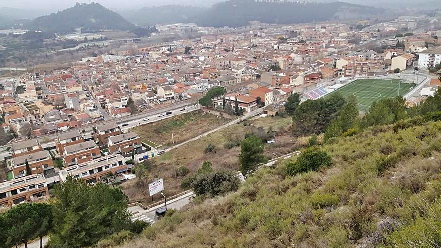 Sant Vicenç proposa créixer sense noves àrees i aprofitant espais buits