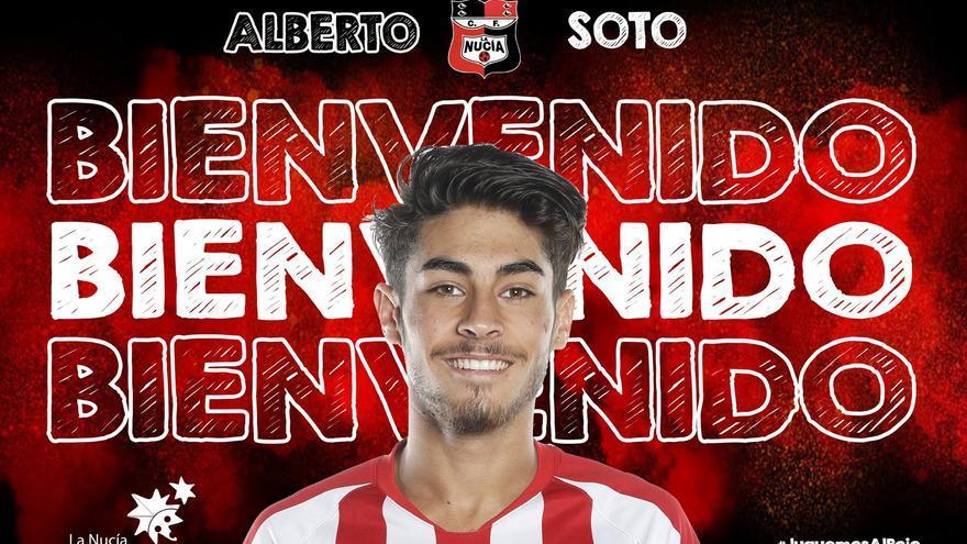 Alberto Soto llega a La Nucía cedido un año por el Atlético de Madrid