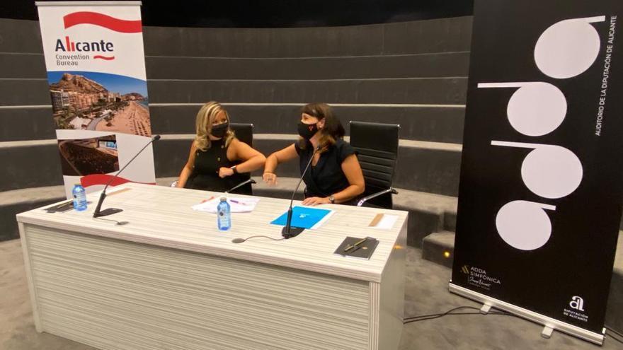 Convenio para potenciar el turismo de congresos en el ADDA