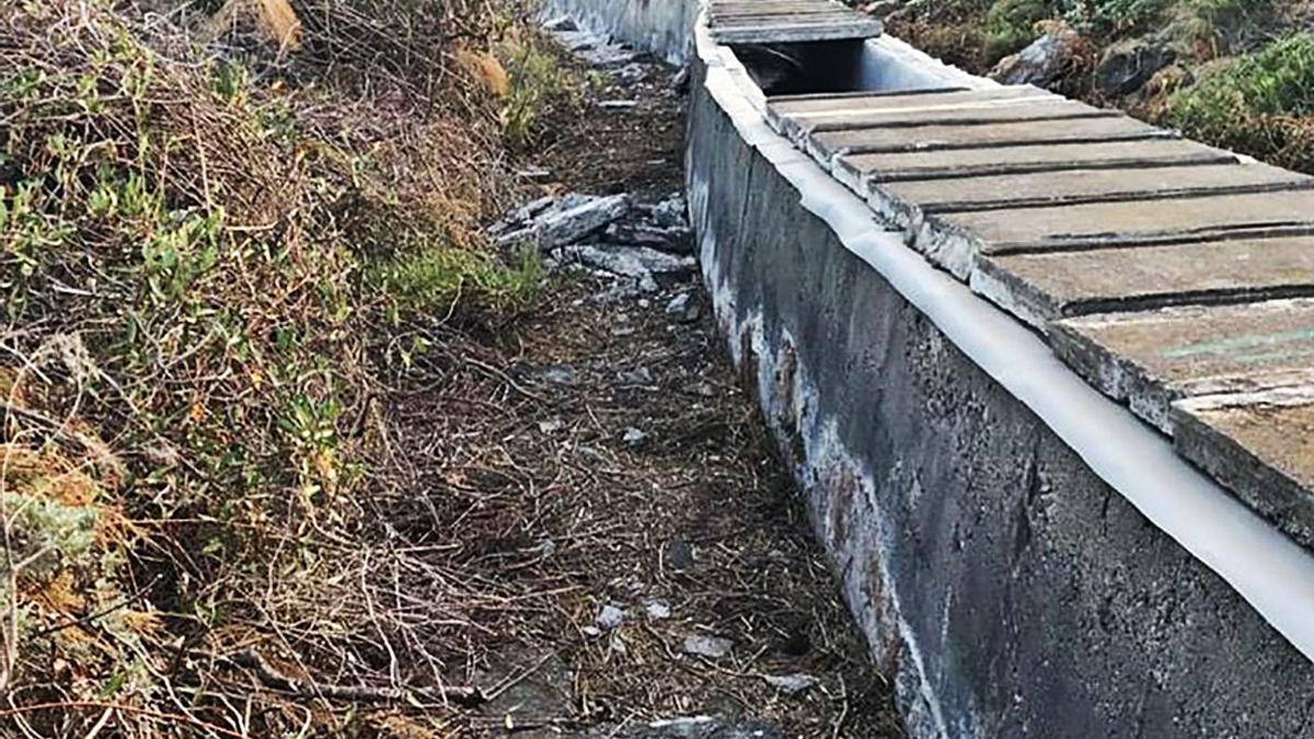 Reparación de tramos del Canal LP1
