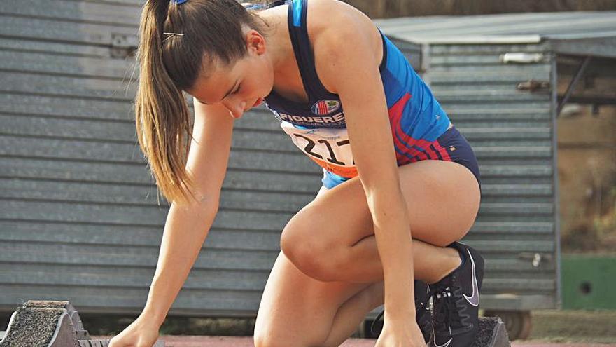 Jana Brusés suma la medalla d'or en el Campionat de Catalunya sub18