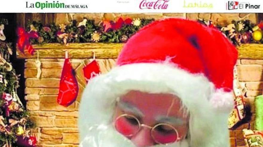 114 videollamadas a Papá Noel