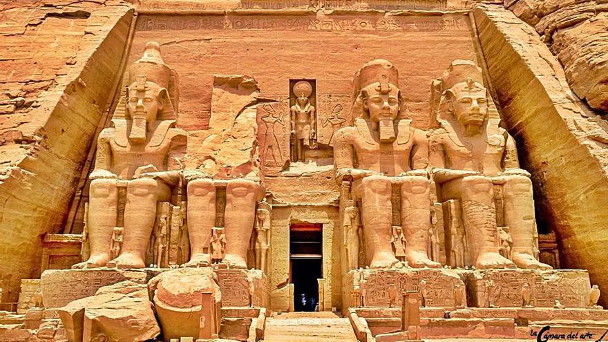 Templo de Ramsés II, una joya egipcia