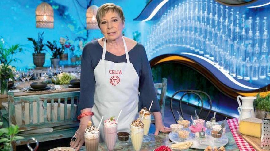 """Celia Villalobos: """"Cuando entré en 'MasterChef Celebrity' me odiaban todos"""""""